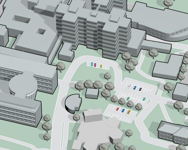 Plan du Centre Hospitalier