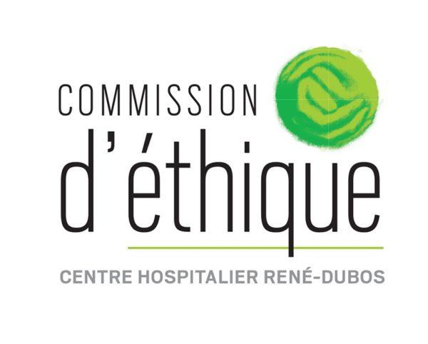 Logo commission d'éthique du CHRD