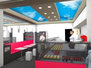 Simulation 3D décoration terminale de chauffe