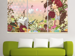Kakémono nature feminine