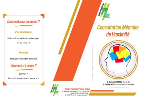 Plaquette consultation mémoire