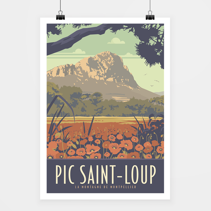 poster pic st-loup
